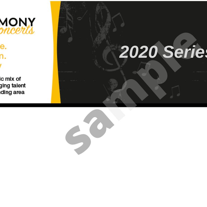 2020 Harmony Concerts Series Pass