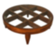 Gio Ponti Important Italian Modern Walnut and Glass Low Table