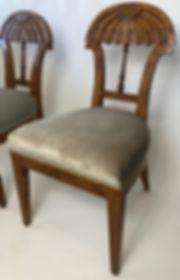 Josef Danhauser A Superb Set of Ten Viennese Biedermeier Dining/ Side Chairs, Josef Danhauser