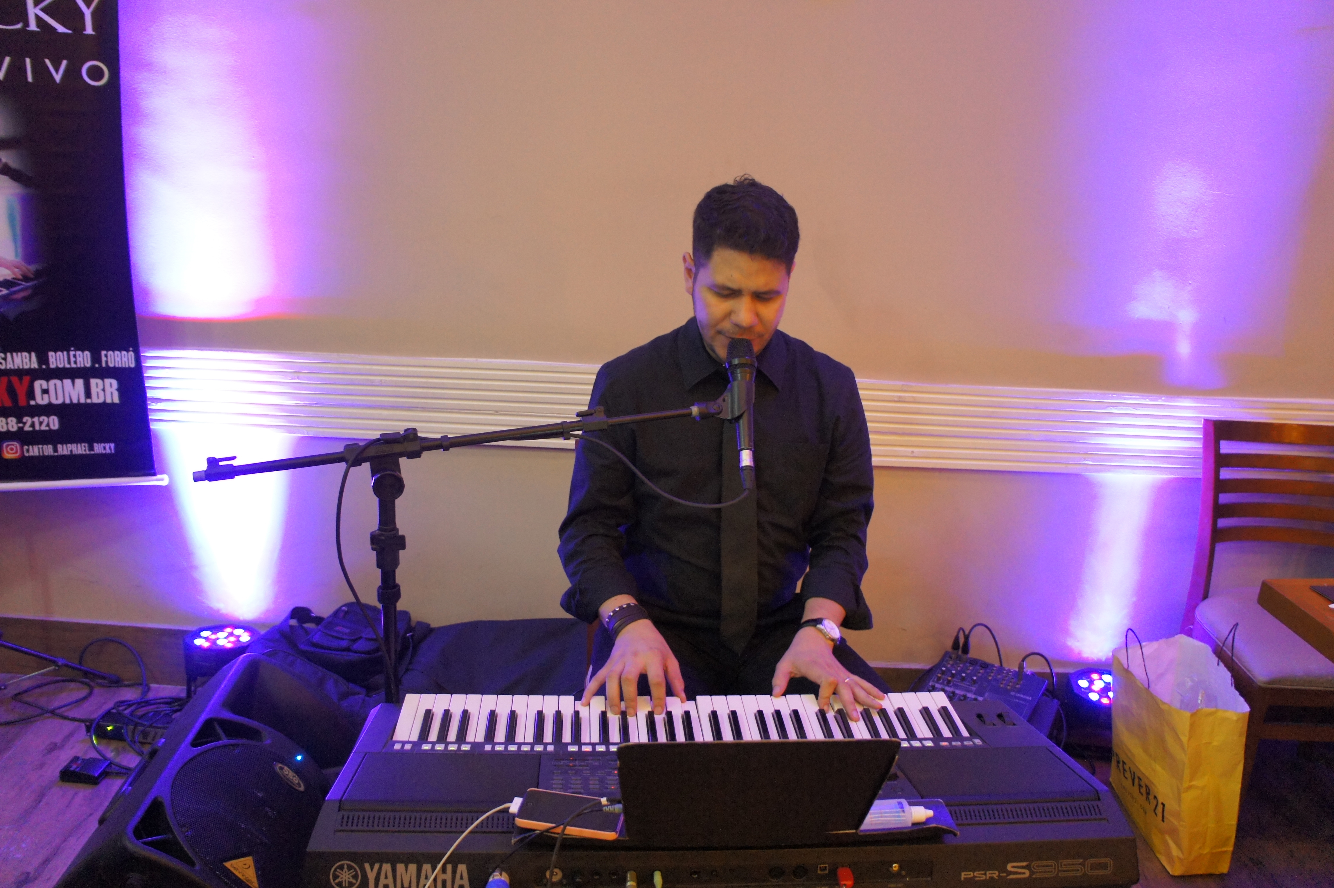 Raphael Ricky Live Music