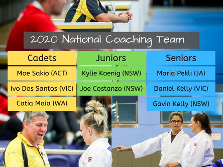 2020 National Coaching Team
