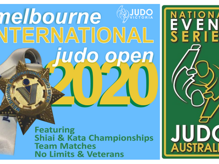 2020 Melbourne International Judo Open