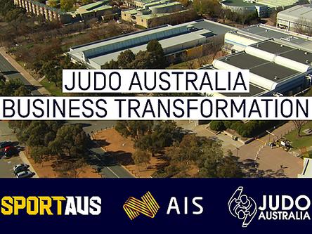 Sport Australia - Judo Transformation Case Study