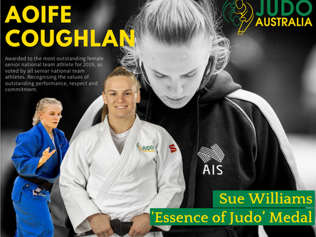 The Sue Williams 'Essence of Judo' Medal 2019 Winners