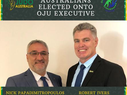 Two Australians Elected onto OJU Executive