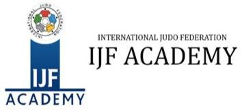 IJF Academy Online Course Registration - Judo Management