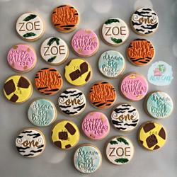Jungle Cookies