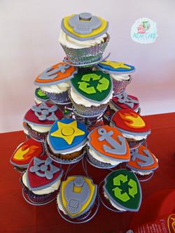 Paw Patrol Cupcake Tower