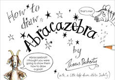 How to draw Abracazebra