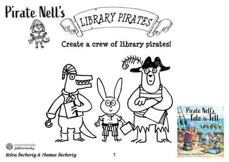 Draw Library Pirates