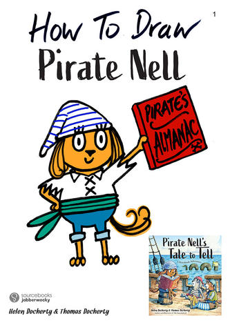How to draw Pirate Nell