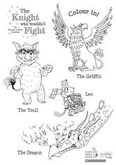 Character Colouring Sheet