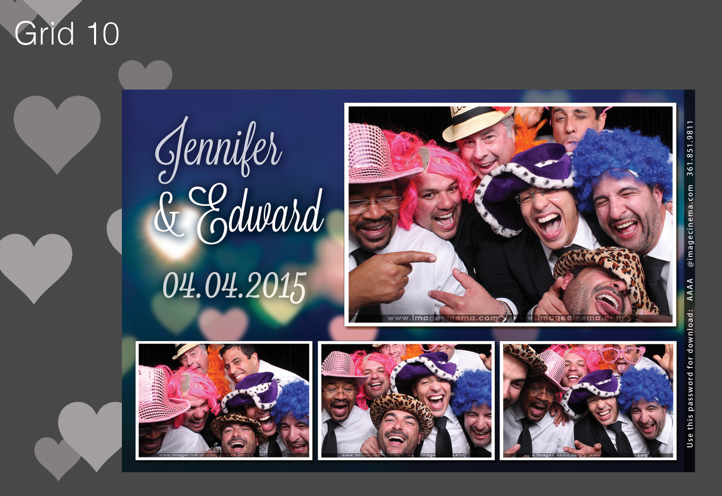 Photo Booth Grid 10