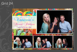 Photo Booth Grid 24