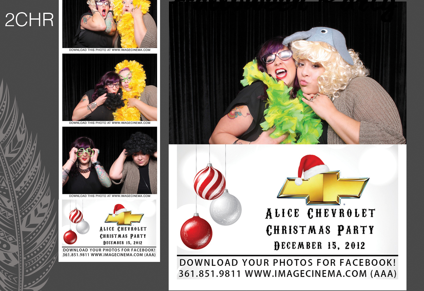 Photo Booth 2CHR