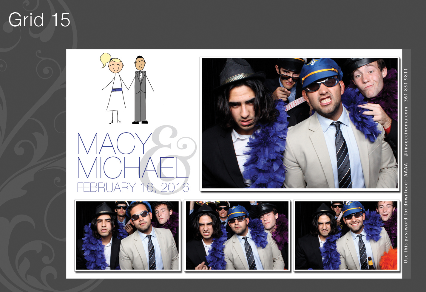 Photo Booth Grid 15
