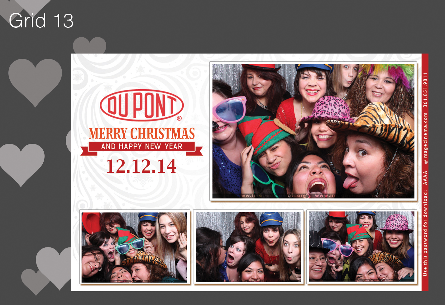 Photo Booth Grid 13