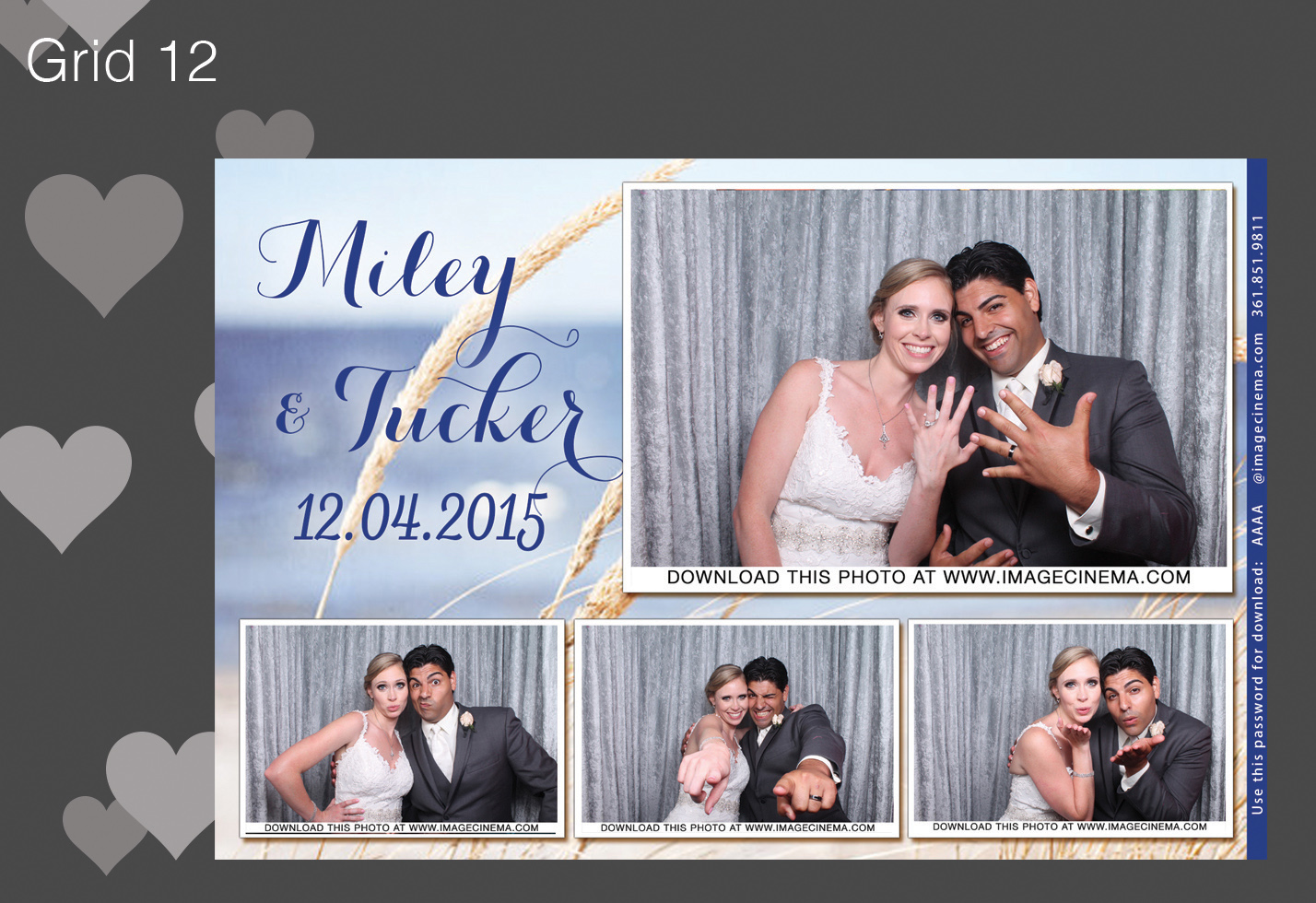 Photo Booth Grid 12