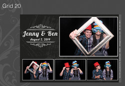 Photo Booth Grid 20