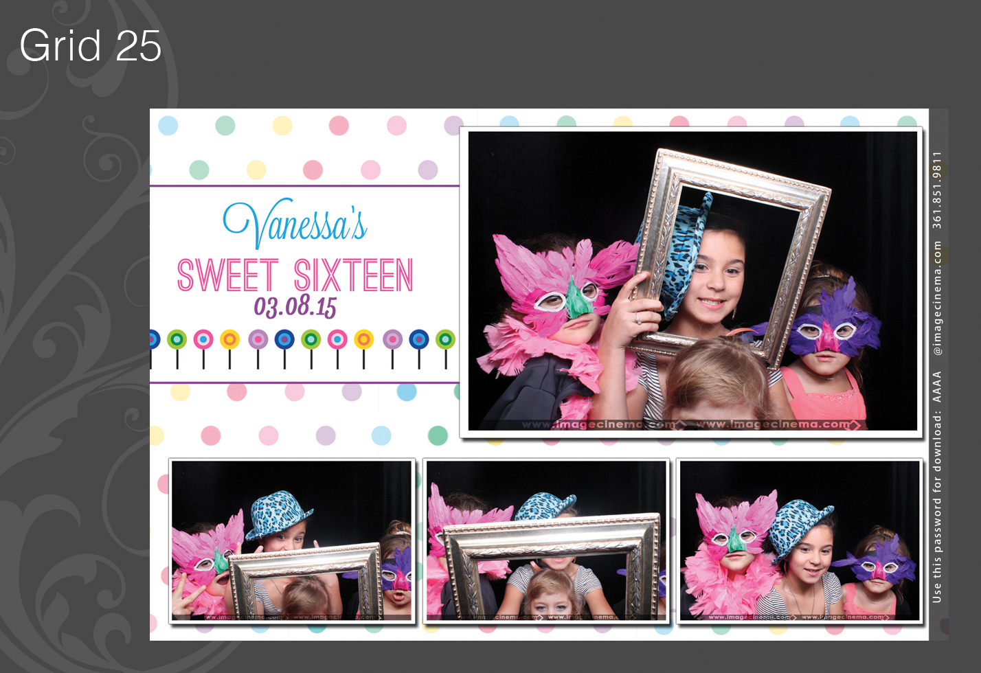 Photo Booth Grid 25