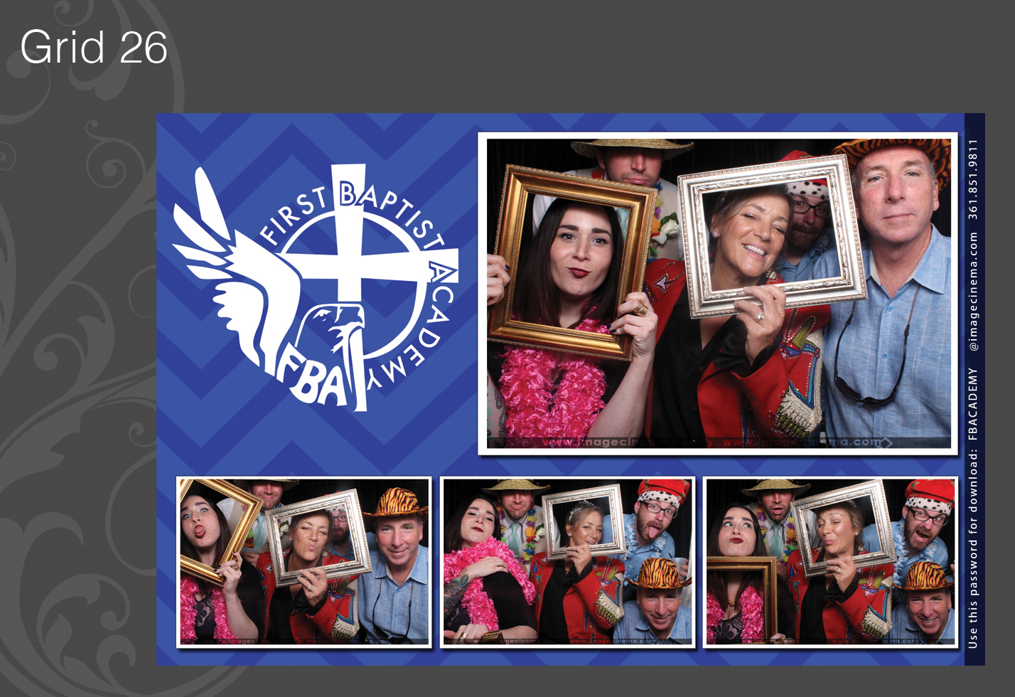 Photo Booth Grid 26