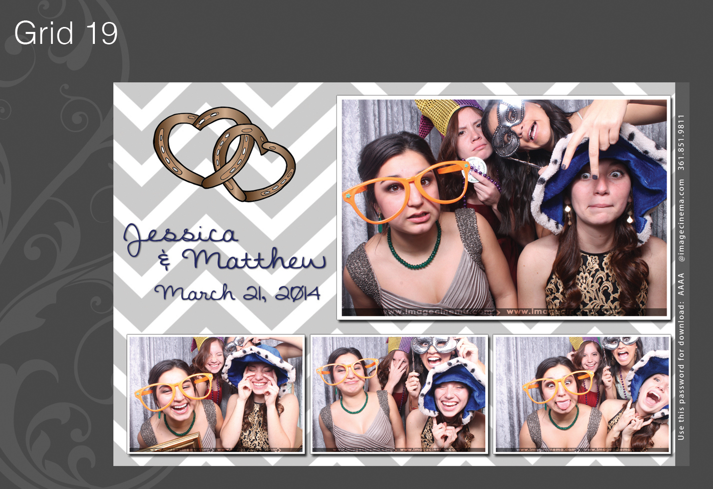 Photo Booth Grid 19