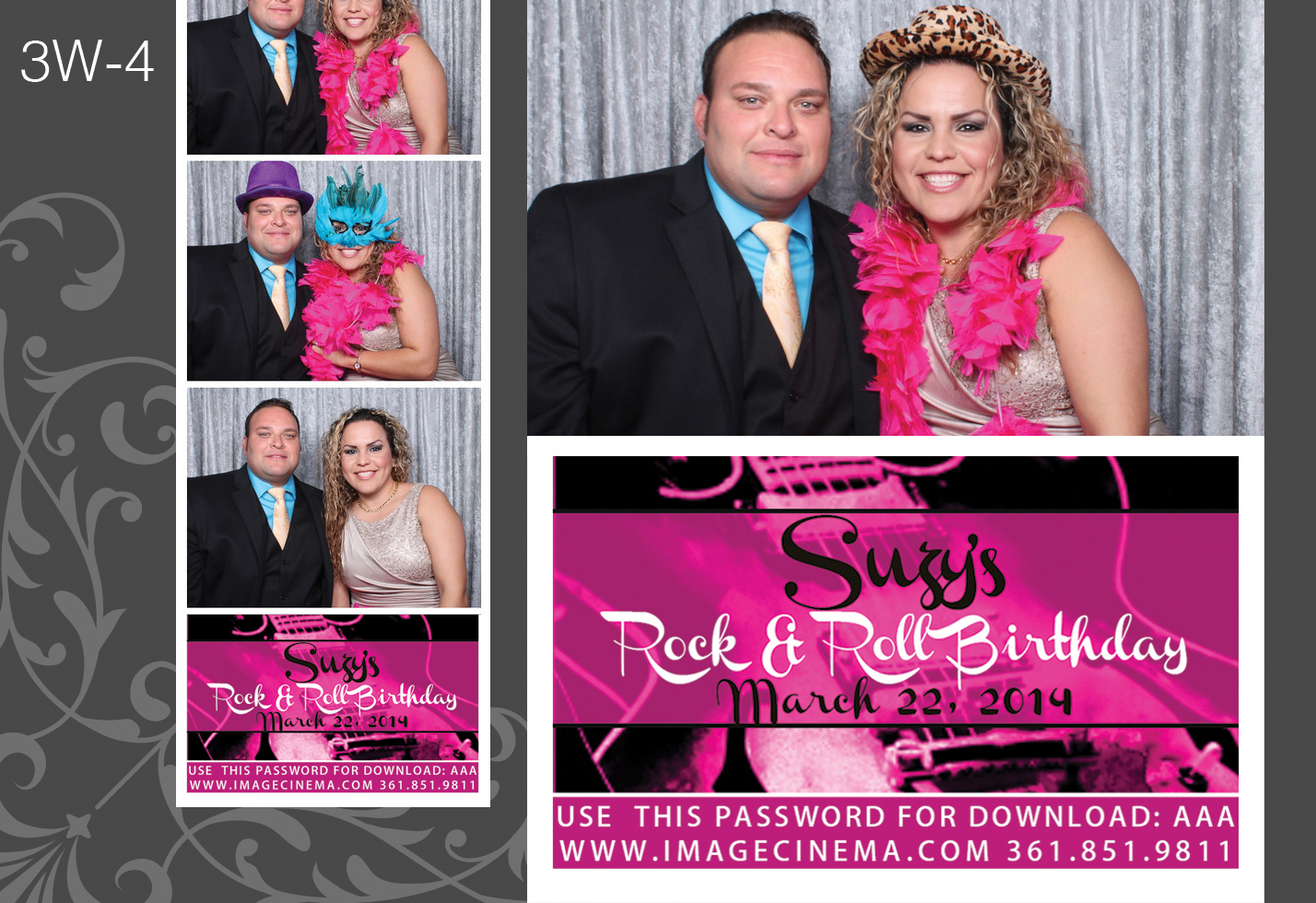 Photo Booth 3W-4