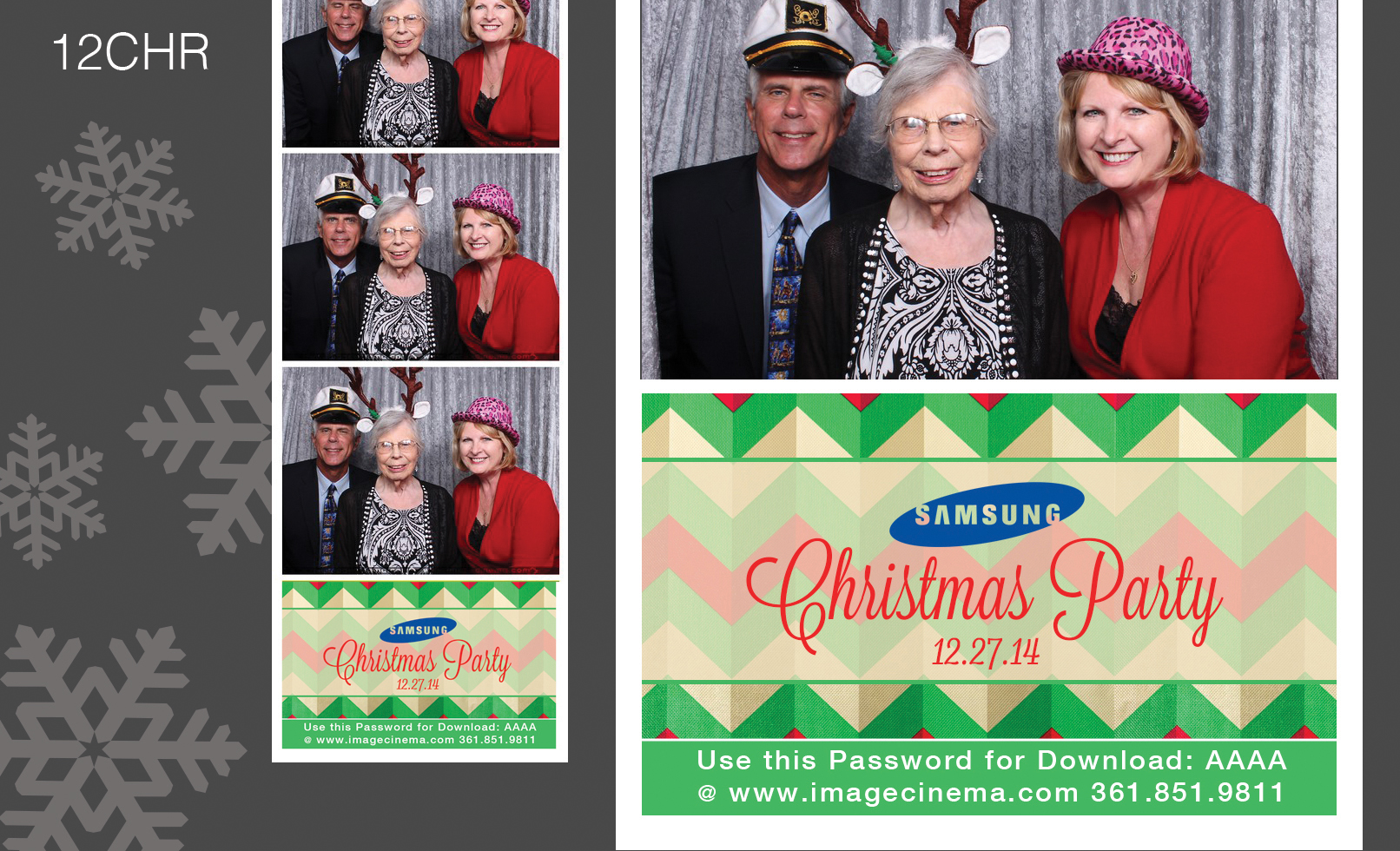 Photo Booth 12CHR
