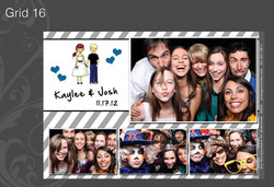 Photo Booth Grid 16