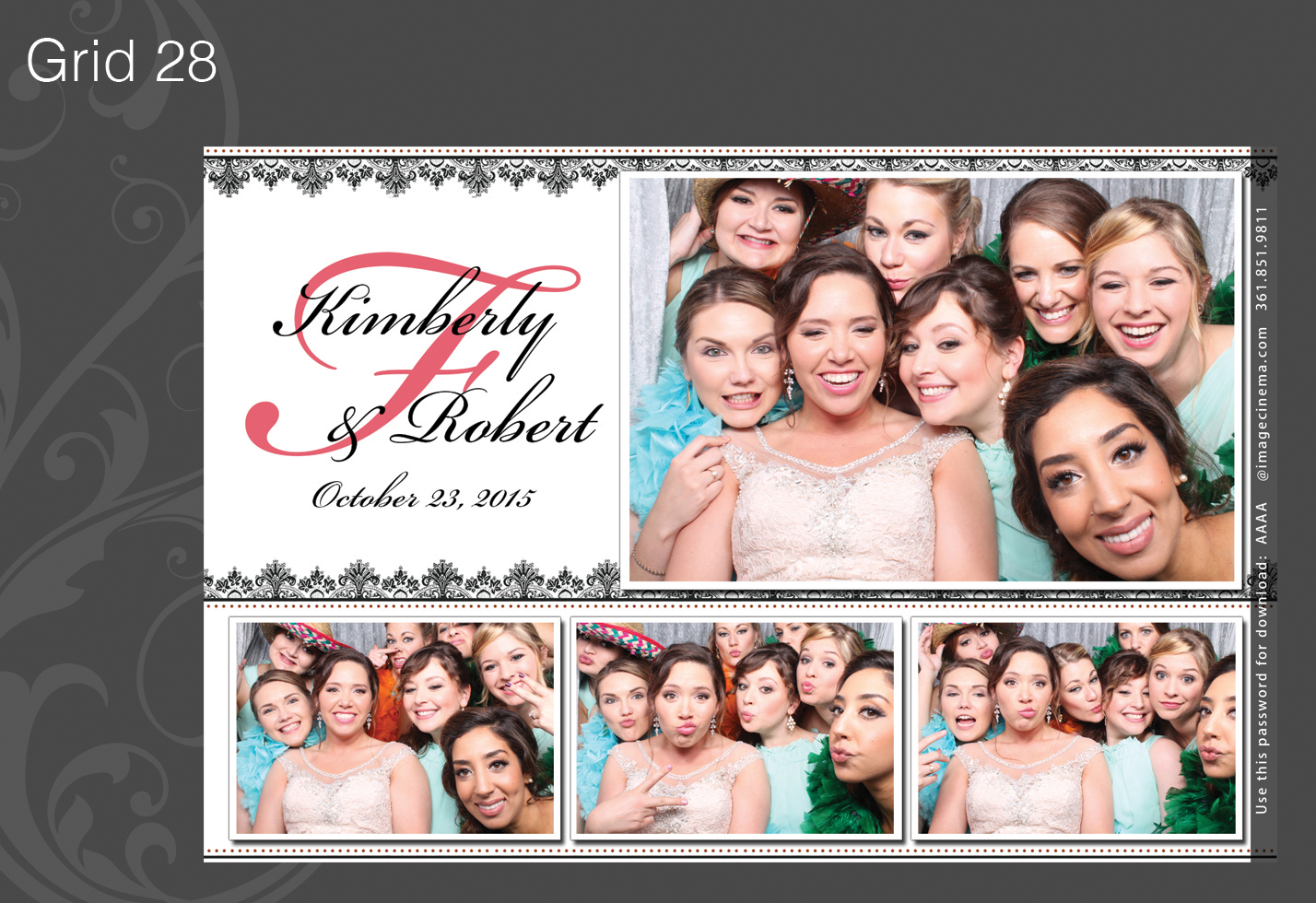 Photo Booth Grid 28
