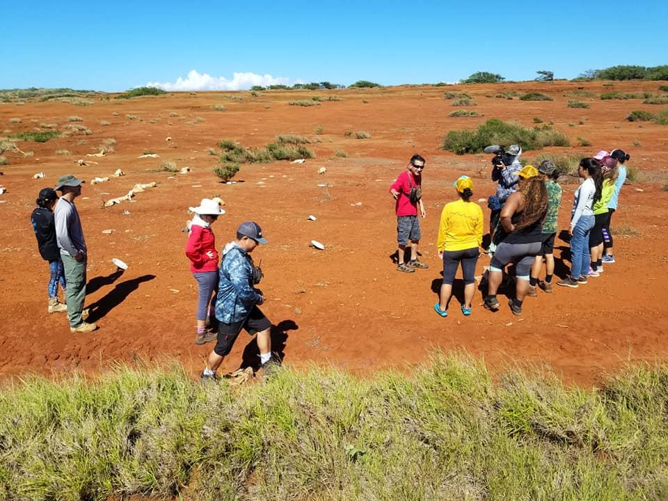 Visit to Kahoolawe