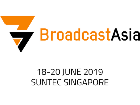 Broadcast Asia 2019 Booth 4G2-03