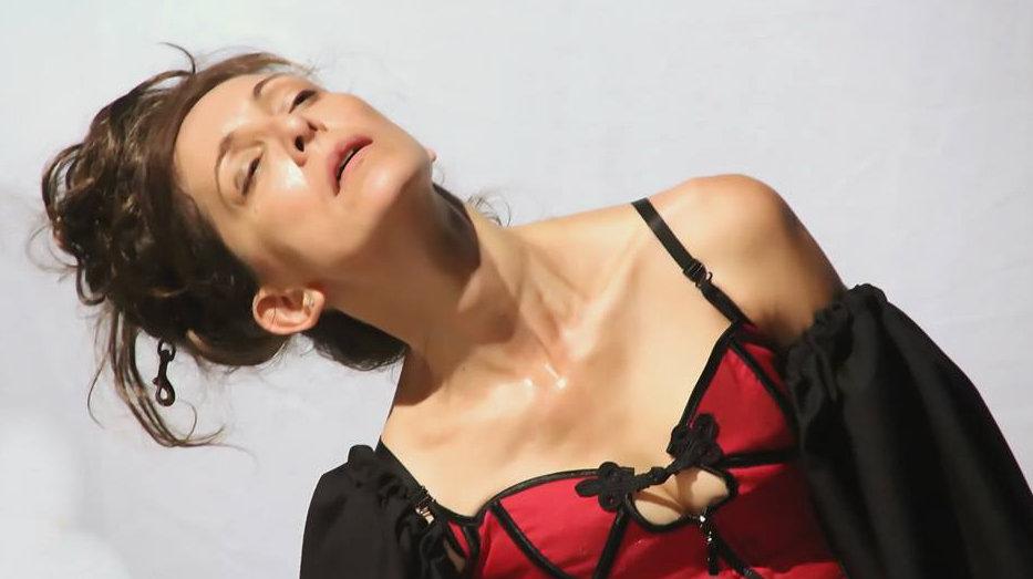 Evelyn Viamonte Borge-actriz teatro, directora teatral, profesora de teatro en Madrid