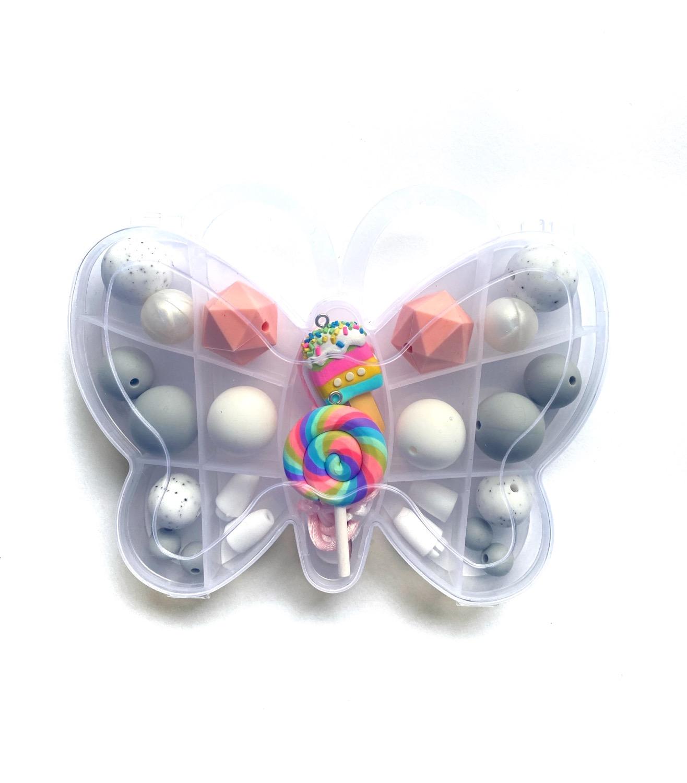 Butterfly DIY Necklace kit - I