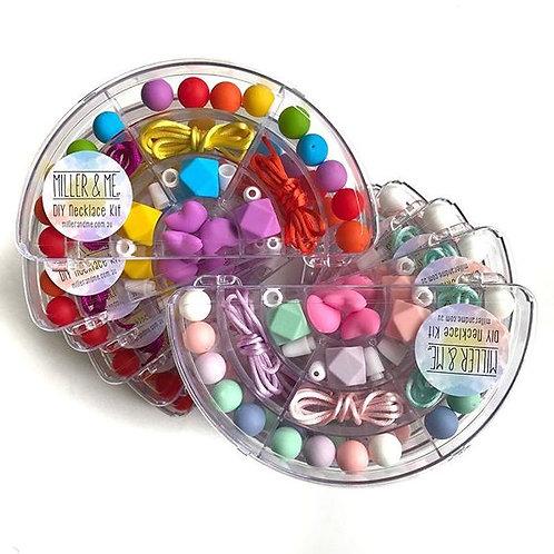 Bright Rainbow DIY Necklace Kit