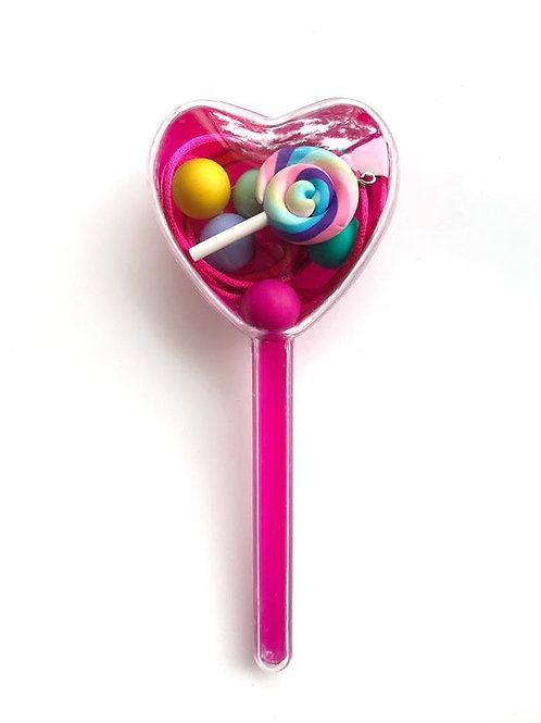 Lollipop love heart DIY jewellery kit
