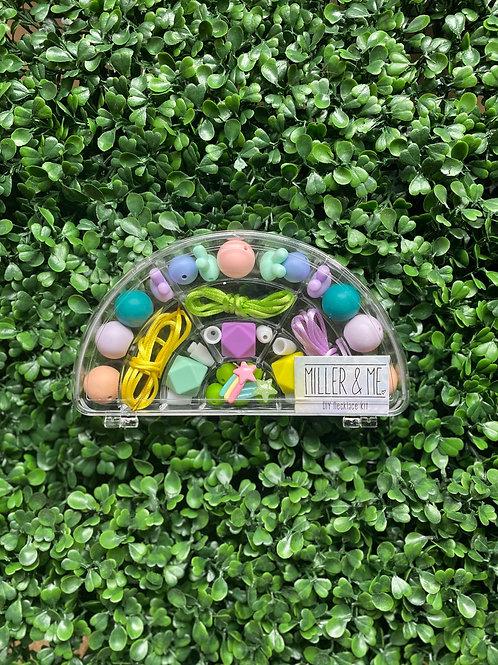 Rainbow DIY Necklace Kit - C
