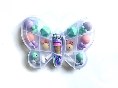 Butterfly DIY Necklace kit - G