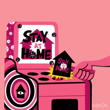 STAY HOME - Whack a mole