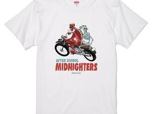 放課後ミッドナイターズ コラボTシャツ