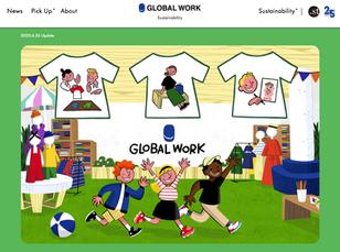 【GLOBAL WORK - グローバルワーク】オフィシャルブランドサイト