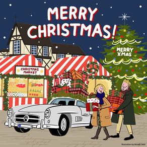 【Mercedes-Benz Christmas card】