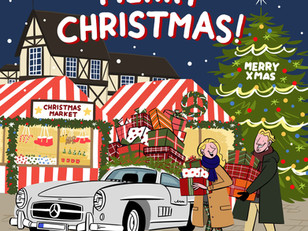 【Mercedes-Benz Christmas card】