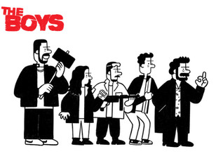 Illustration of The Boys