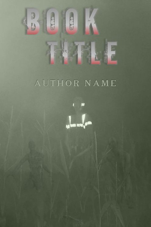 E-Book Cover - Zombies in the corn