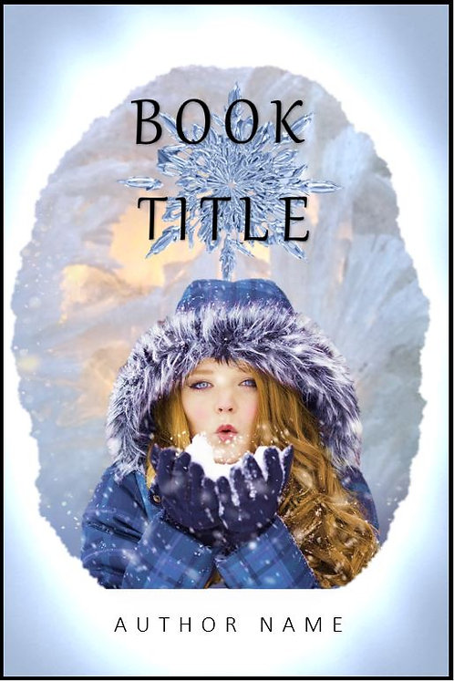 E-Book Cover - Woman with snow