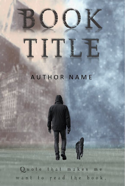 E-Book Cover - Man with dog