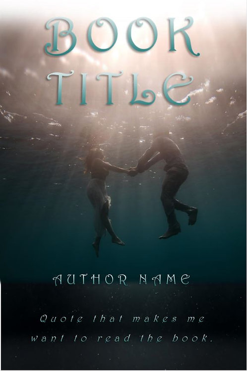 E-Book Cover - Couple underwater