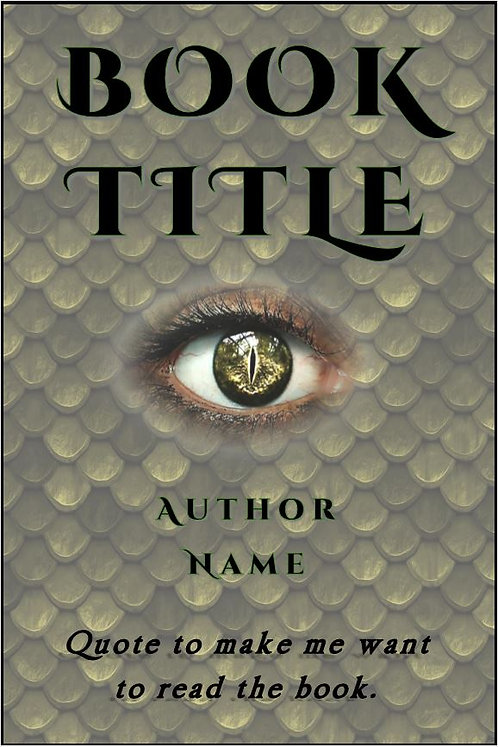 E-Book Cover - Dragon eye
