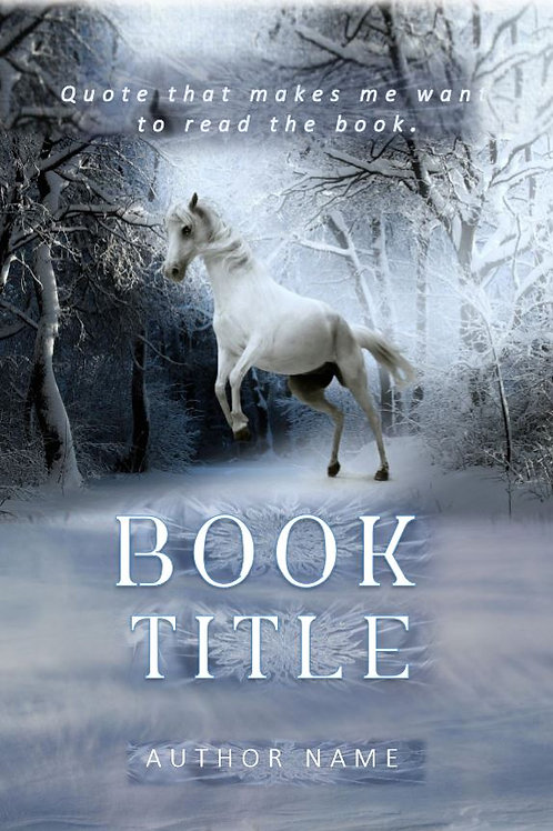 E-Book Cover - Winter horse